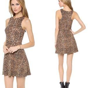 Mara Hoffman Circle Leopard Dress Small